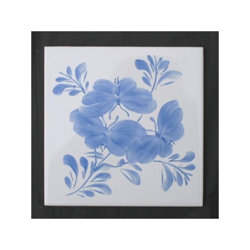 Sommerfugle motiv Lille Gruppe - håndmalet dekoration på enkelt flise