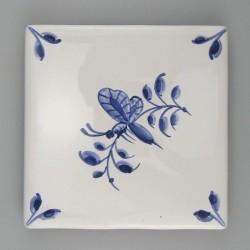 Nostalgi insekt på kvist - dekoration på enkeltflise