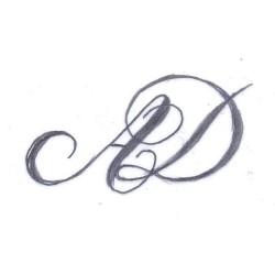 Udarbejdelse af monogram eller spejlmonogram