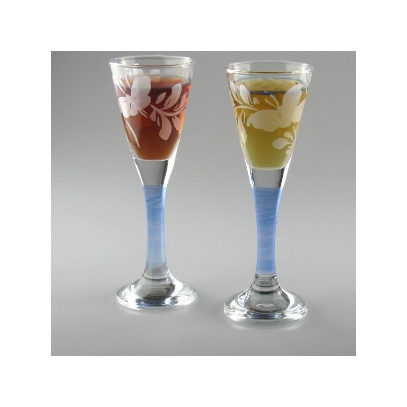 Snapseglas som bordkort