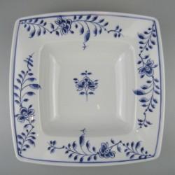 Håndmalet dyb tallerken med Nostalgi mønster
