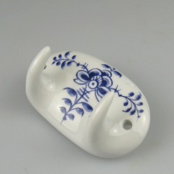 Håndmalet dobbelt porcelænsknage med dekoration Nostalgi