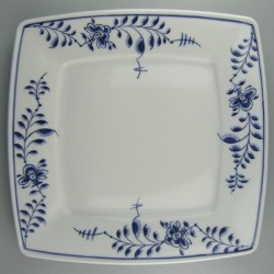 26 cm - Håndmalede tallerkner med dekoration i Nostalgi