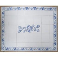 Frise med Sommerfugle bort og enkel dekoration - velegnet som fliser over køkkenbordet eller på et badeværelse