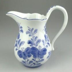 Porcelænskande, håndmalet med sommerfuglemotiv