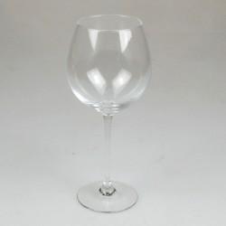 Hvidvinsglas - ballonform - udekoreret