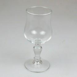Hvidvinsglas - lyreform - udekoreret