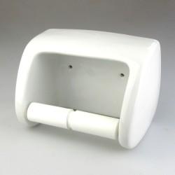 Toiletrulleholder i hvidt porcelæn