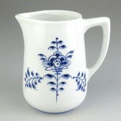 Håndmalet porcelænskande - 4,5 dl - med blåt Nostalgi-motiv