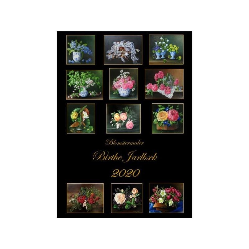 2020 Kalender med blomstermalerier
