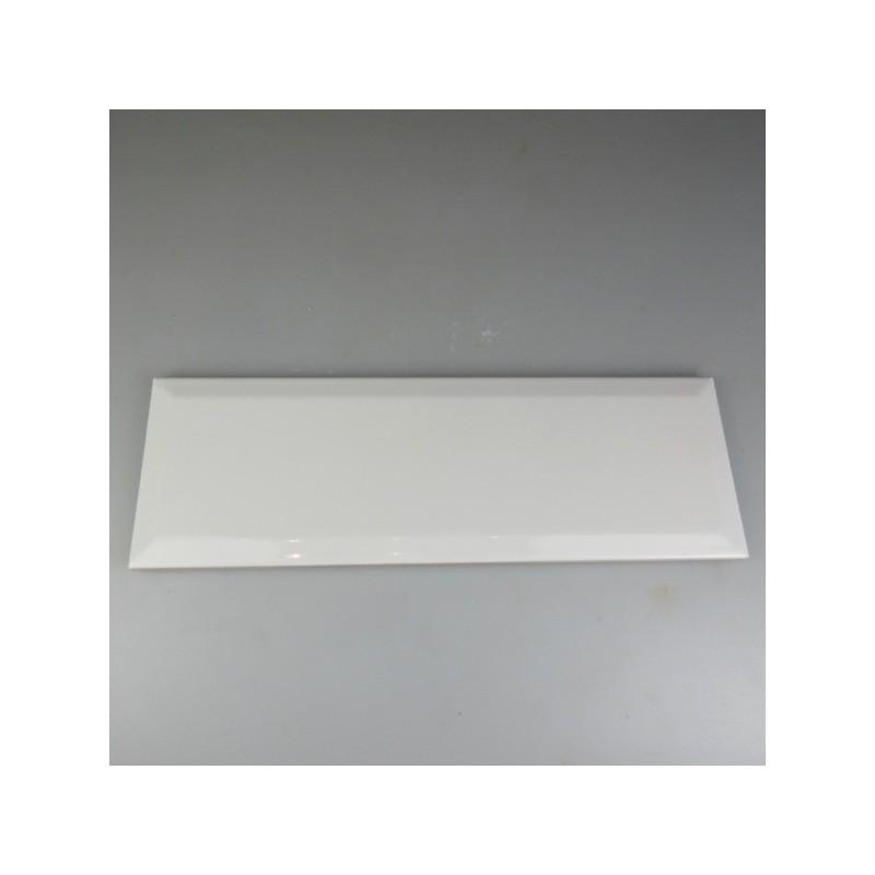 30 x 10 cm hvid, stor metroflise