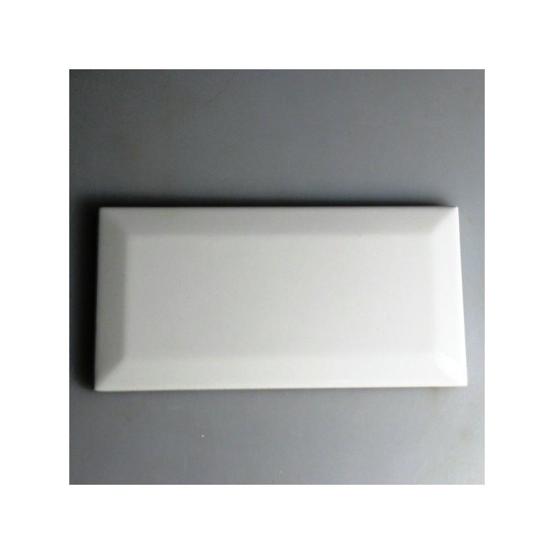 Metroflise 15 x 7,5 cm hvid