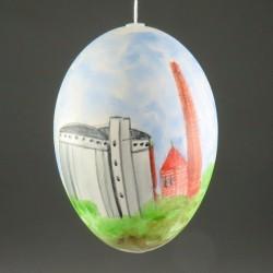 Møn-ægget 2020 - gåseæg med Sukkerfabrikken og Stege Kirke