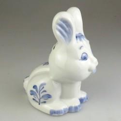 Sparehare - sparebøsse hare af porcelæn