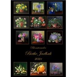 2021 Kalender med blomstermalerier