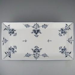 31 x 16 cm - Sushi tallerken / serveringsfad (B) i håndmalet porcelæn med Nostalgi-motiv