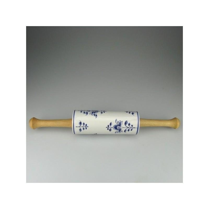 Kagerulle i håndmalet porcelæn med Nostalgi dekoration