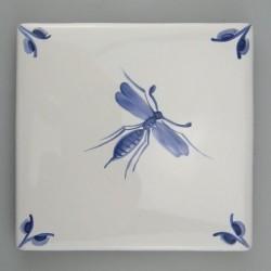 Nostalgi Insekt A - dekoration på enkelt kakkel / flise